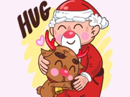 Santa Claus Stickers Pack