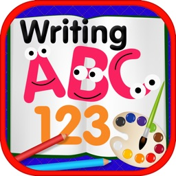 ABC 123 Writing Coloring Book for Kids PIGGYBUNNY