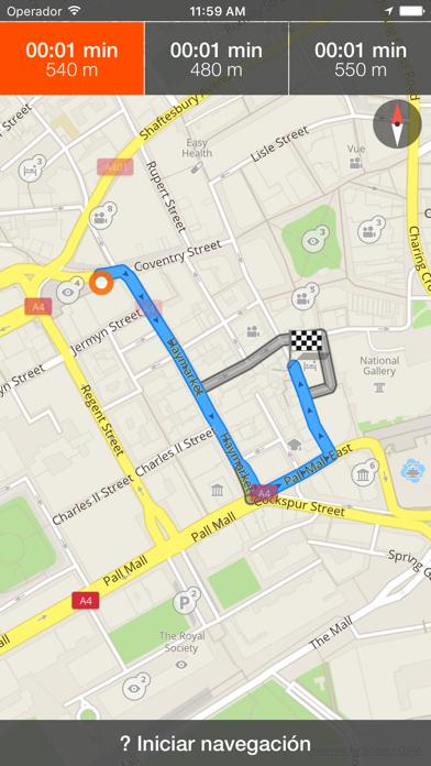 Daca mapa offline y guía de viajeCaptura de pantalla de3