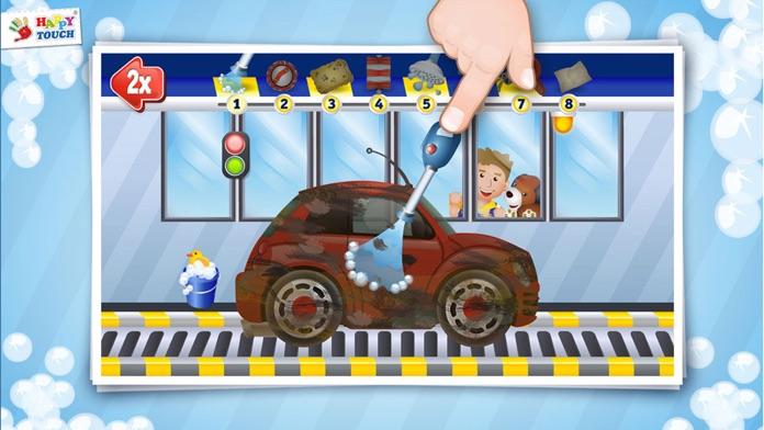 A Funny Cars Wash Game for Kids – Free - Pocket Screenshot
