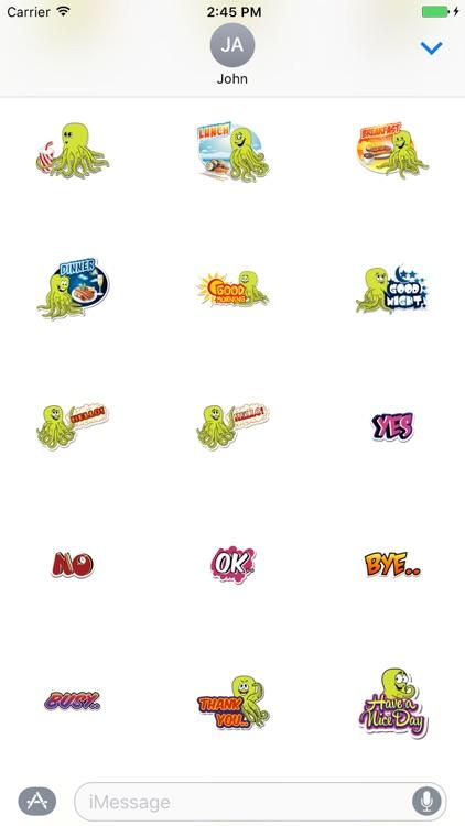 Omnitoons Sticker Pack screenshot-3