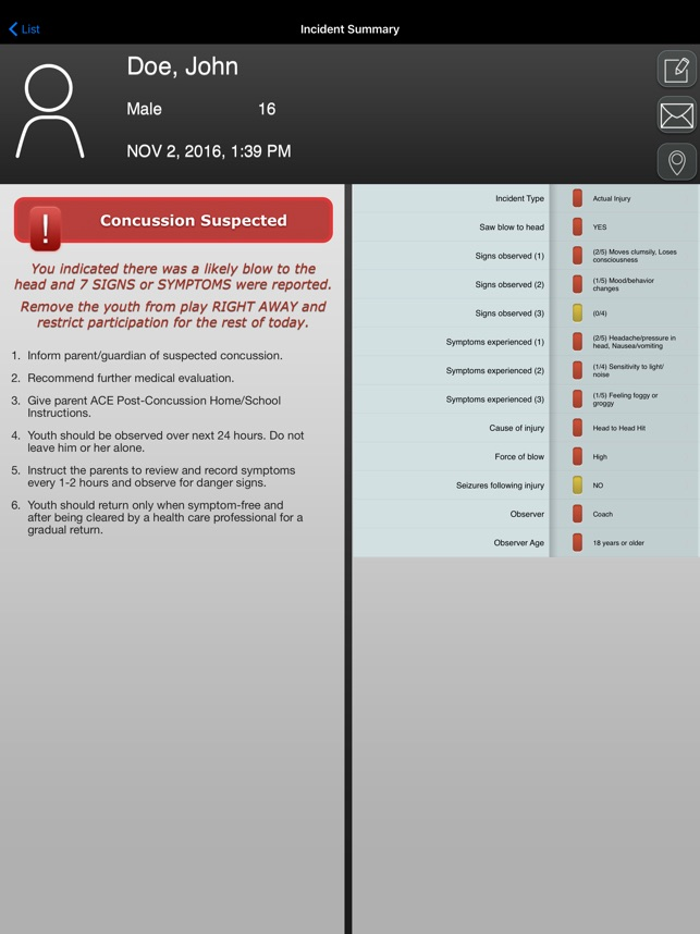Concussion Recognition Response Coach Pare On The App Store