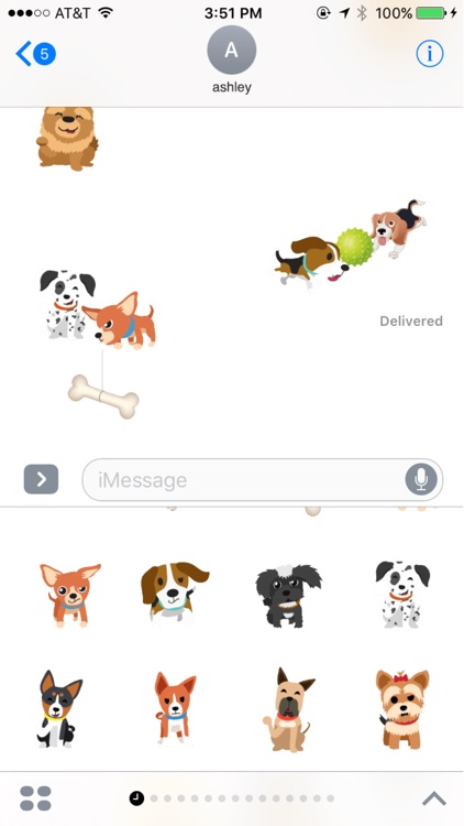 Dogmoji - Dog Emoji Stickers
