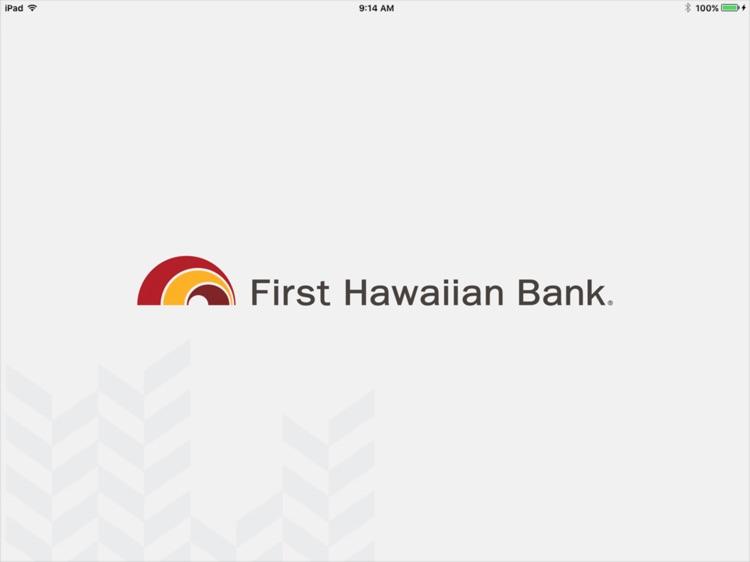First Hawaiian Bank Mobile for iPad