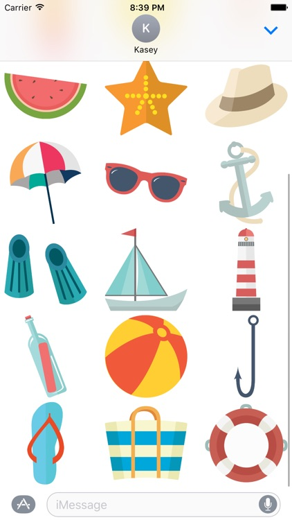 Summer Stickers Pack