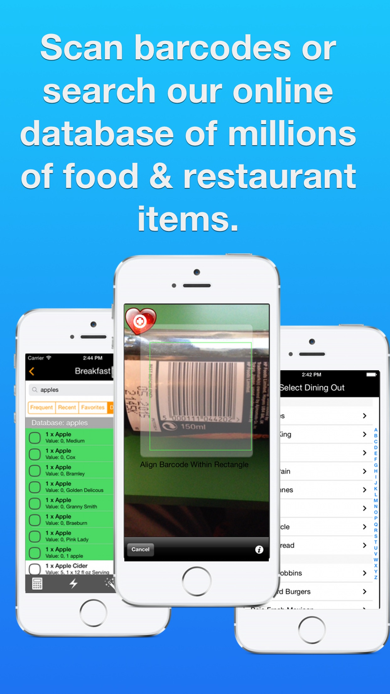 Ultimate Food Value Diary - Diet & Weight Tracker