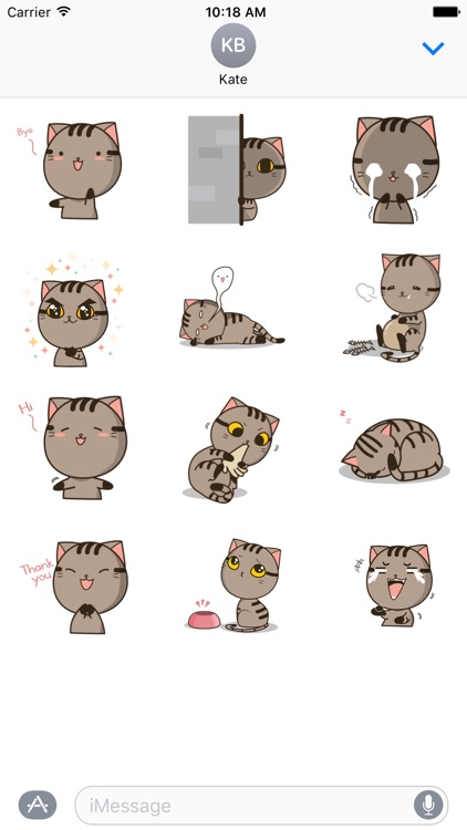 Drek The Cat 2 - Animated Stickers