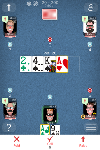 Poker Online Games screenshot 1