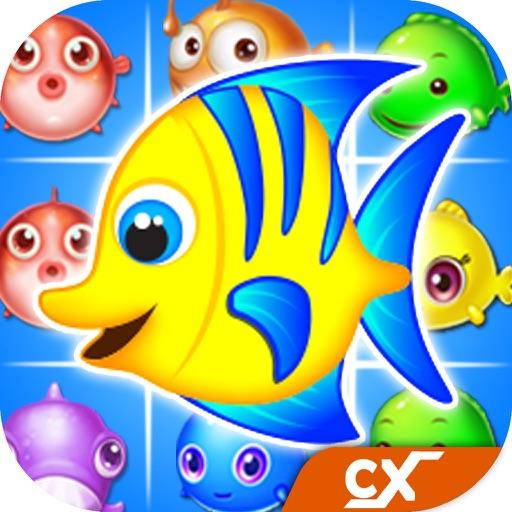 Fish Blast - Best Ocean Crush Match 3 Mania Game iOS App
