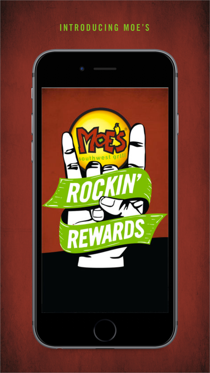 Moe's Rockin' Rewards Screenshot