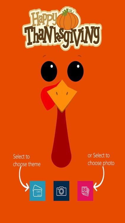 Make Thanksgiving Greeting Cards & Photos
