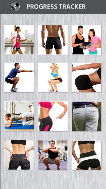Butt Workout FREE Thigh Squat Cardio Exercises screenshot-3