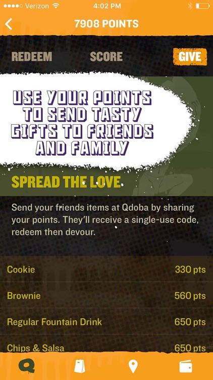 QDOBA Rewards & Online Ordering screenshot-4