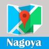 名古屋旅游地铁gps定位零流量去哪儿日本世界地图 Nagoya metro JR map guide