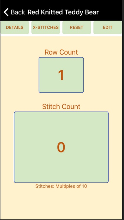 The Yarn Lady's Stitch Counter screenshot-3
