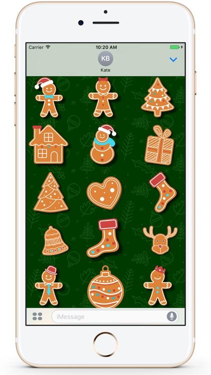 Gingerbread Christmas Cookies screenshot-4