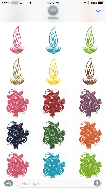 Diwali Stickers for iMessage