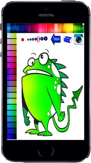 Coloring Fun Kinder Buch heimtückische Monster Färbung im App Store