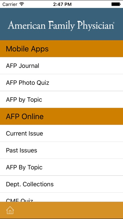 American Academy of Family Physicians screenshot-3