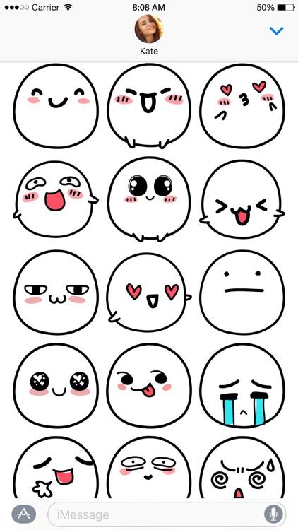 Kawaii Buns stickers