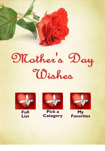 Adore Mothers Day Wishes - náhled