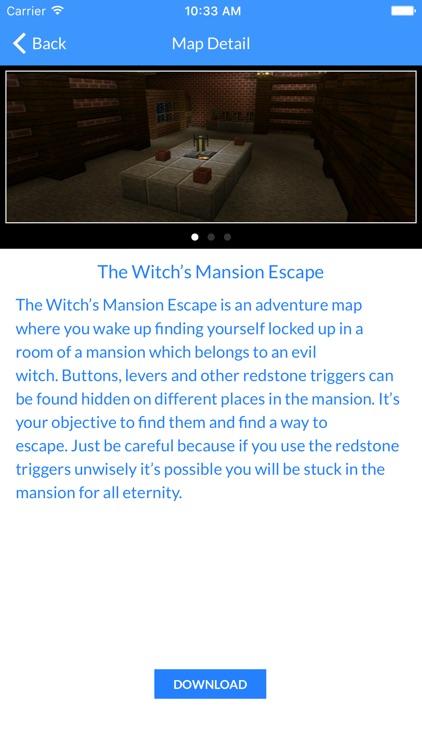 Best Mansion Maps For Minecraft Pocket Edition screenshot-3