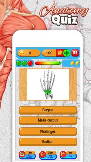 Anatomía Quiz Gratis Ciencia Educación Juego en App Store