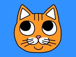 Orange Cat Stickers