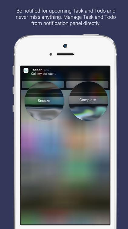 Todoer : To-Do & Task List screenshot-3