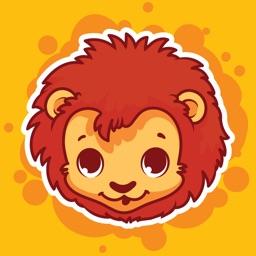 Sticker Me: Colourful Animals