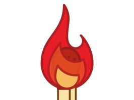 Lit Sticks Animated Sticker Pack