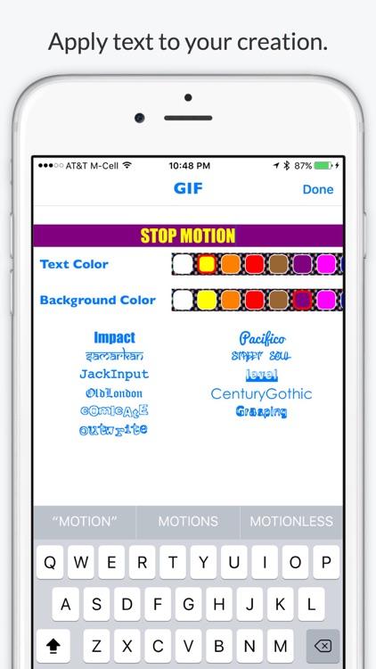 Stop Motion GIF - Animated GIF Video screenshot-3