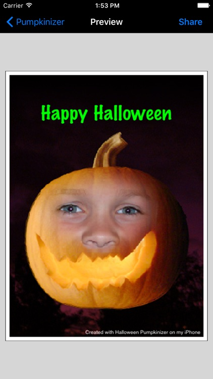 Halloween Pumpkinizer screenshot-0