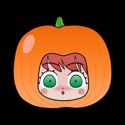 Halloween Animated Kawaiimoji Sticker Pack