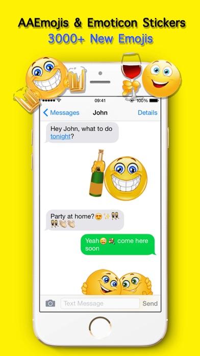 AA Emoji Keyboard - Animated Smiley Me Adult Icons-0