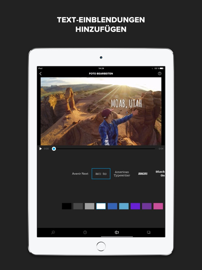 Splice - Video-Editor von GoPro im App Store