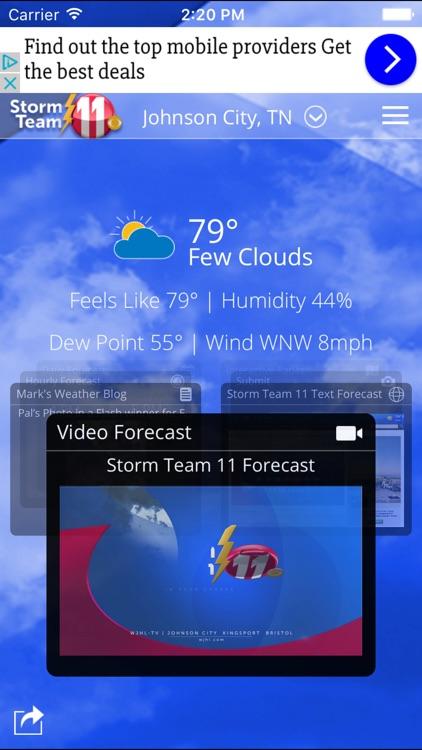 WJHL Radar – Tri-Cities, Tennessee weather