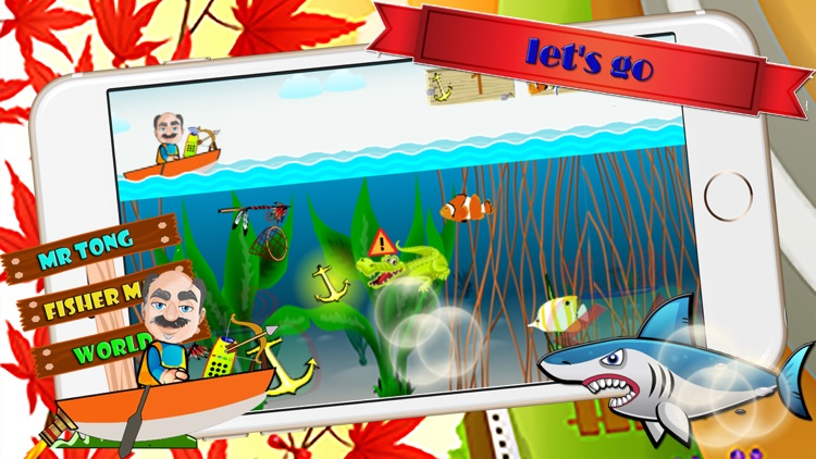 fisherman fishing joy easy games rod spear fishery screenshot-3