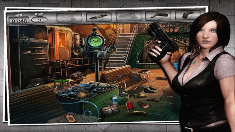Criminal HiddenObject- Free CrimeCase Game screenshot-3