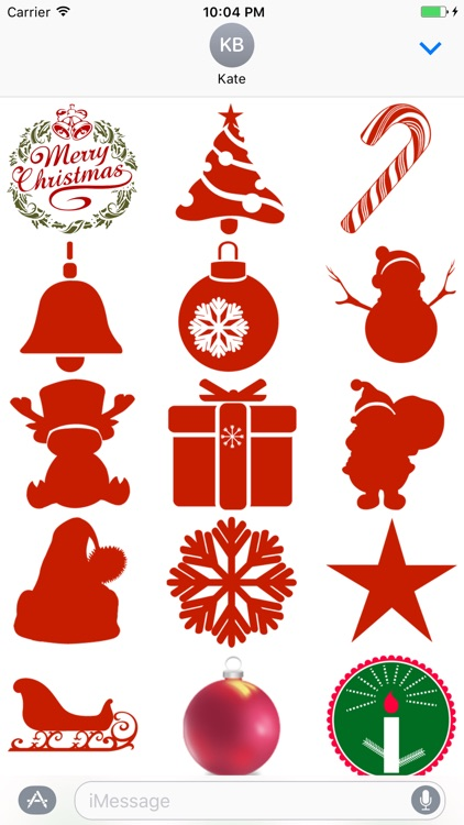 """""""Christmas"""" Stickers Pack"""