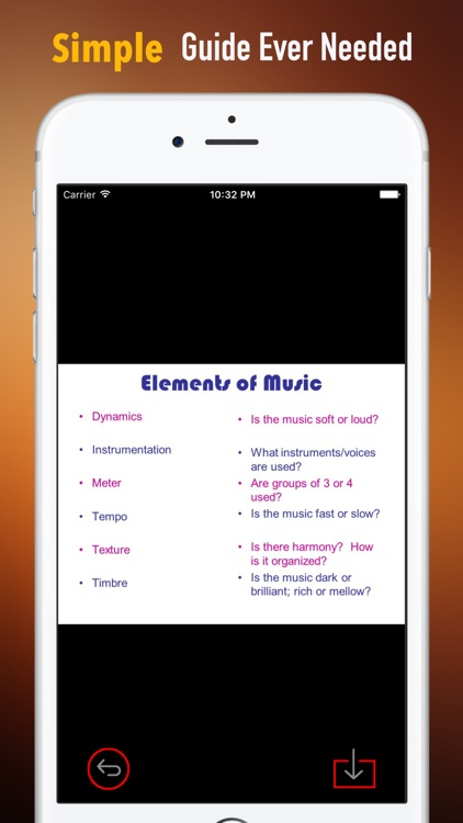 Music Dictionary Glossary|Study Guide and Video screenshot-1