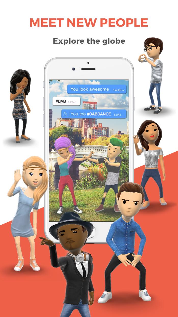 Rawr Messenger - Dab your chat Screenshot