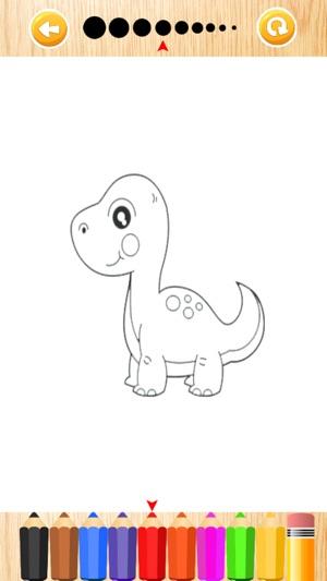 Dinosaurier Malbuch Zeichnen Und Malen Dino Spiele Im App Store