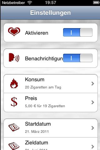 Stop-Smoking-TimerScreenshot von 4