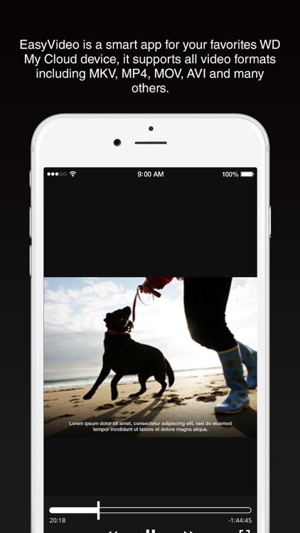 EasyVideo for WD MyCloud screenshot-3