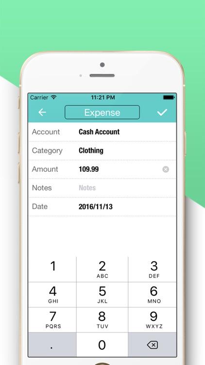 Account Tracker Next-Pocket Spending Expense Track screenshot-3
