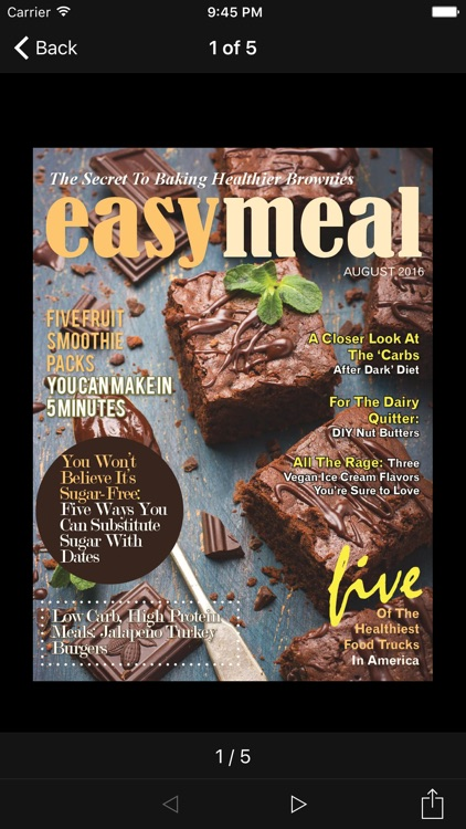 Easy Meal Magazine