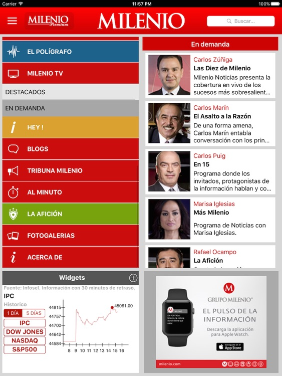 Milenio Impreso screenshot-2