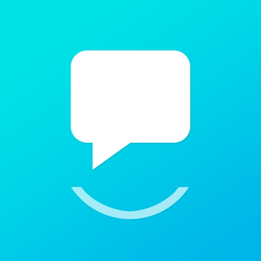 Smiley Private Texting - FREE anonymous sms number app logo