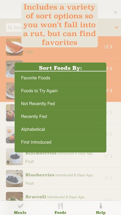 Baby Bites – The Best Food Tracker For Little Ones screenshot-3